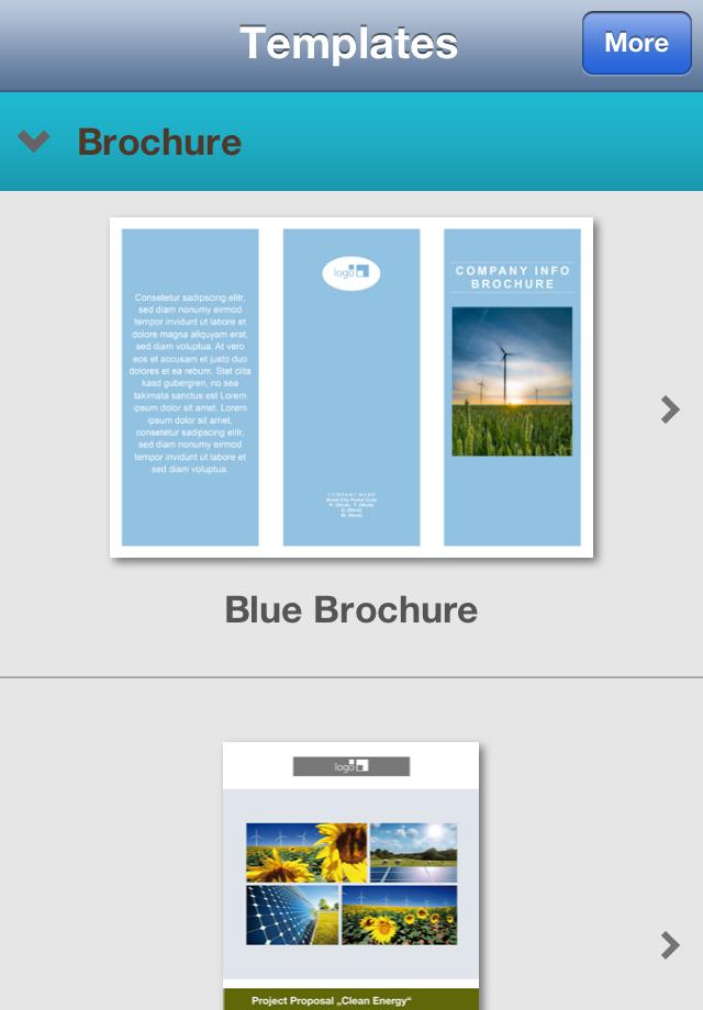 为专业pages模板下载_为专业pages模板 iphone,ipad版图片